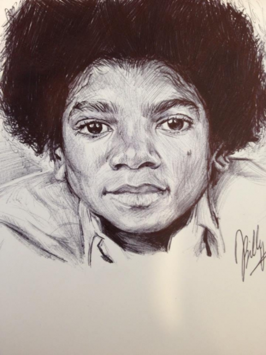 Michael Jackson by billyhjackson